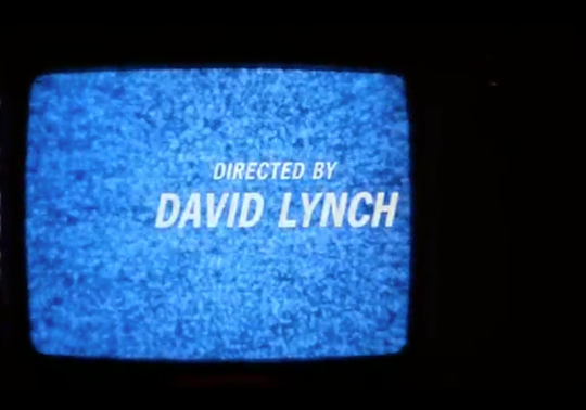 Directed by david lynch