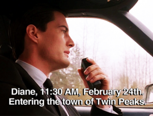 11.30 Entering the town of Twin Peaks