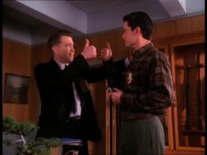 David Lynch e Dale Cooper