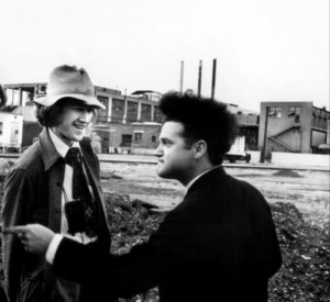 Jack Nance and David Lynch