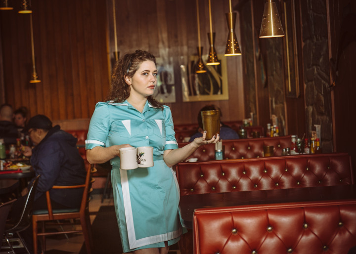 Twin Peaks concept editorial shoot, StackeDD Magazine, Lost Lake, Seattle, MacKenzie Mercer, Shelly Johnson