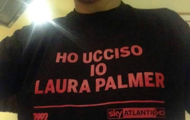 Ho ucciso io Laura Palmer - maglietta sky