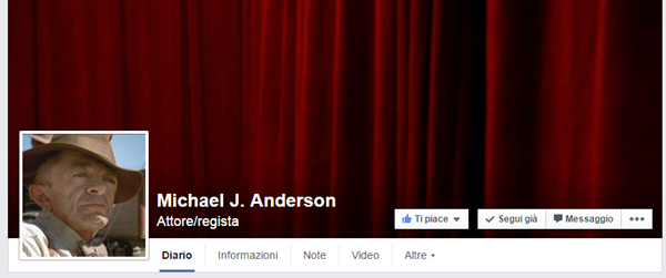 Michael J, Anderson cover photo