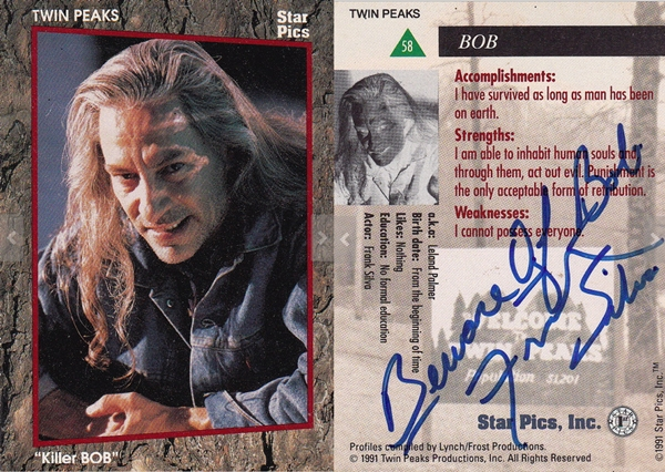 Killer Bob trading card