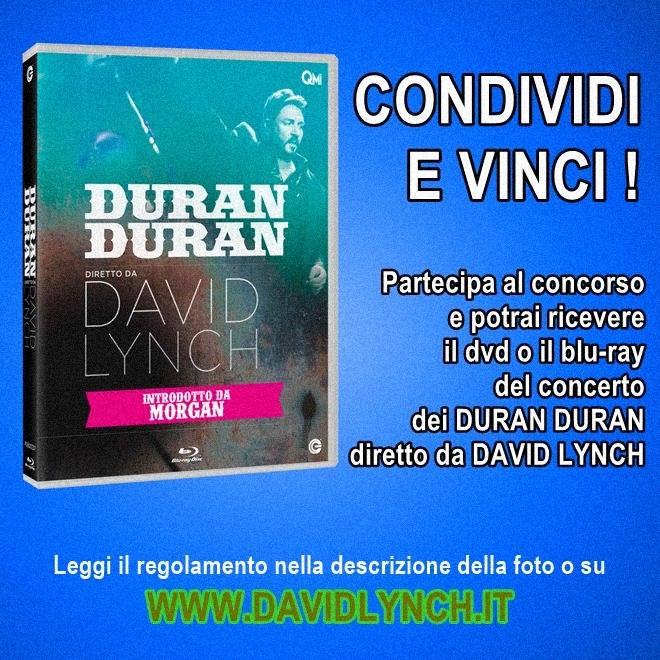 Condividi e vinci Duran Duran