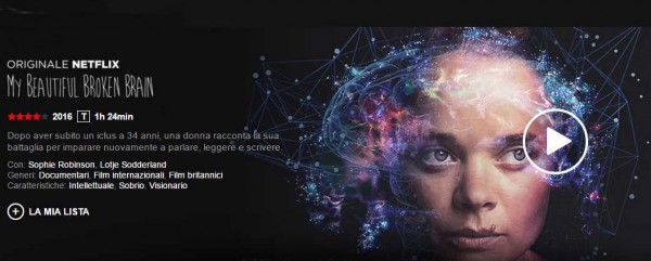 My Beautiful Broken Brain su Netflix Italia