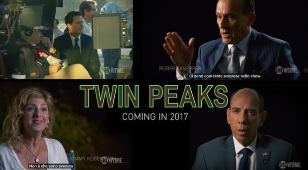 Twin Peaks, il primo dietro le quinte