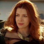 ELENA SATINE. L'asgardiana Lorelei in Agents of S.H.I.E.L.D., Judi Silver nella serie Starz Magic City, e Mera, la moglie di Aquaman in Smallville.
