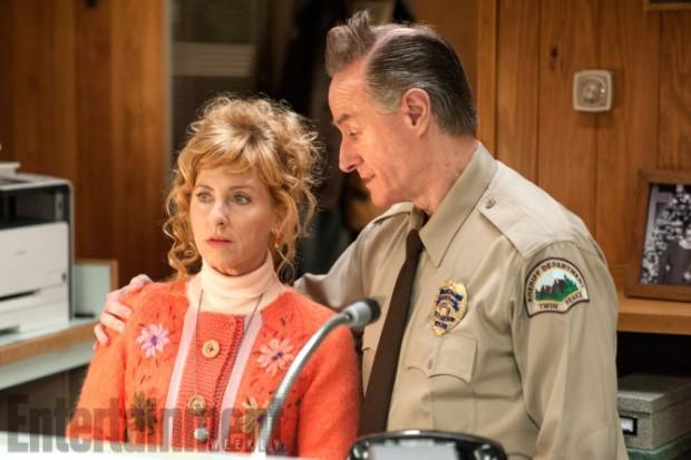 Kimmy Robertson (Lucy Moran ) e Harry Goaz (Andy Brennan)