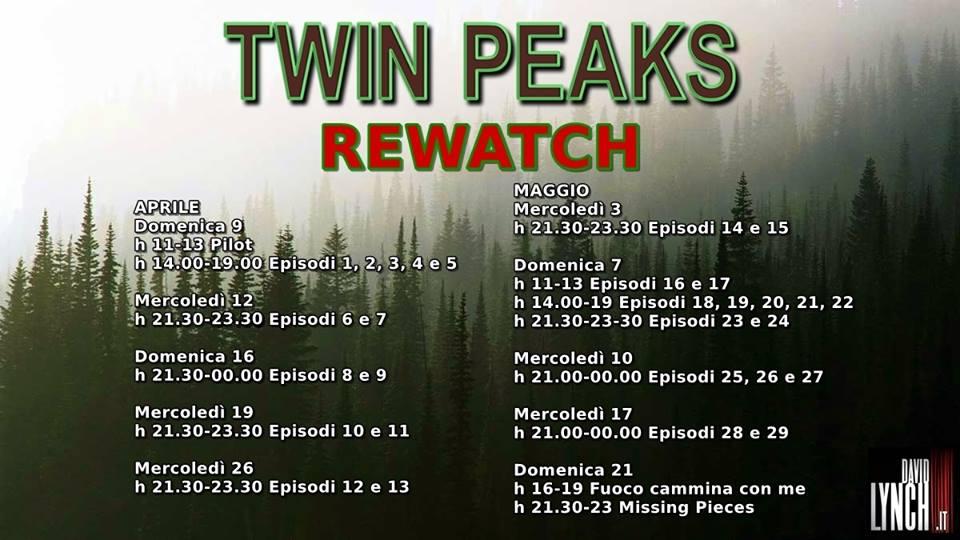 Twin Peaks Rewatch programma