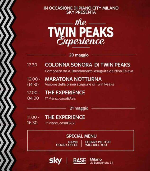 Twin Peaks Piano City Programma