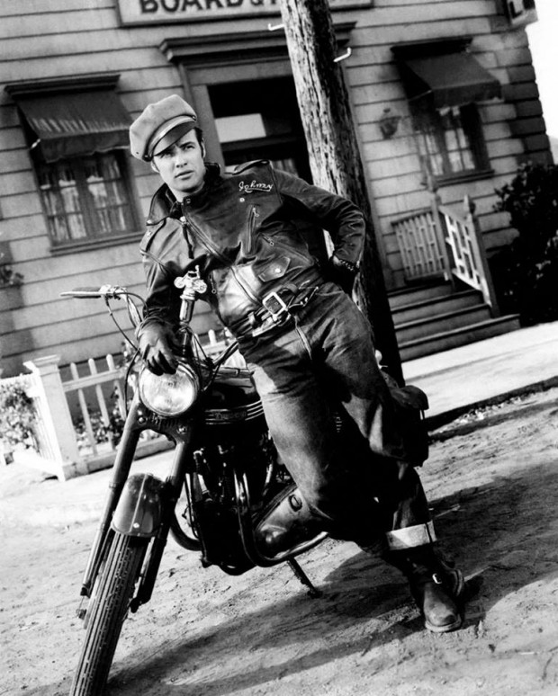 Marlon Brando in Wild Ones