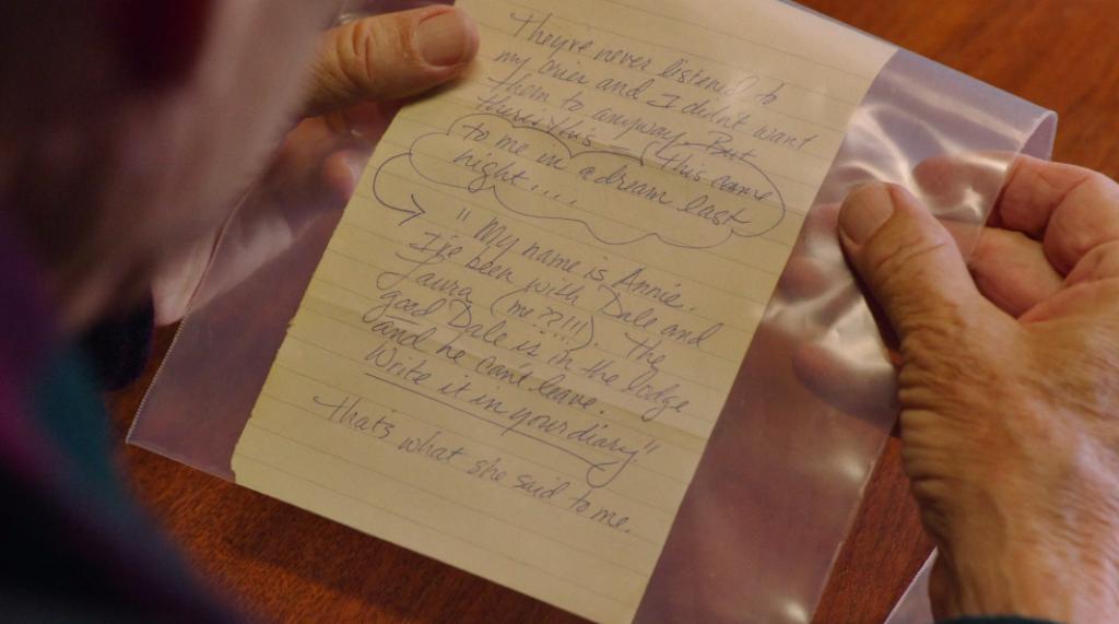 3x07 Una pagina del diario segreto di Laura Palmer