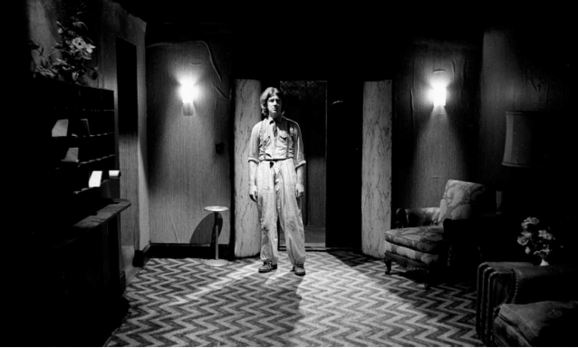 David Lynch sul set di Eraserhead